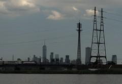 NY Skyline 330 (stevensiegel260) Tags: newyorkskyline manhattanskyline worldtradecenter newjerseytransit newjerseymeadowlands train railroad northeastcorridor