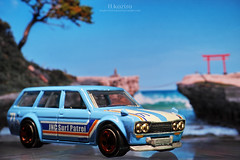 HotWheels 2017 SURF'S UP - '71 DATSUN BLUEBIRD 510 WAGON (koziro) Tags: hotwheels 2017 surfs up 71 datsun bluebird 510 wagon ホットウィール ダットサン ブルーバード ワゴン minicar ミニカー diecast car model dp3quattro dp3q