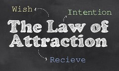 Law of Attraction (LenaThelander) Tags: law attraction wish intention receive ideas dreams vision board ask potential action inspired passion live project management present will strength determination trust intuition excitement joy happiness gratitude feeling feel success manifestation heart bliss goal flow positive psychology energy graphic blackboard teach illustration spiritual thoughts belief attract mind three step process
