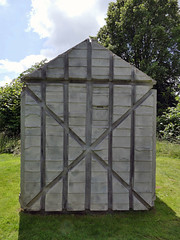 Houghton Hall, Norfolk, UK (mira66) Tags: houghton hall park sculpture garden rachelwhiteread hut norfolk eastanglia