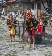 Traditional Nias costumes (Hannes Rada) Tags: indonesia nias island bawomataluo costume