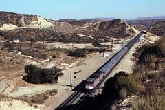 AMTK 290 - Summit, Cajon Pass CA - 12/29/79 (RockAndRail) Tags: amtkf40phr290 f40ph emd summit cajonpassca wb 35 290289 77601311 built678 desertwind saltlakecityutlosangelesca passenger train railroad cajonpass ca california 290 amfleet train35