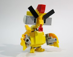 mechachicken04 (chubbybots) Tags: lego mecha chicken