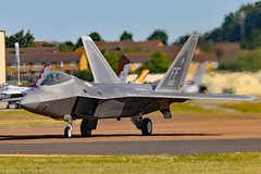 08-4163 (GH@BHD) Tags: 084163 lockheedmartin f22 f22a raptor usaf unitedstatesairforce riat riat2017 royalinternationalairtattoo raffairford fairford aircraft aviation fighter strikeaircraft
