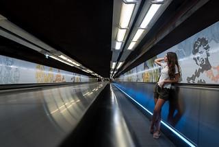 En el metro de París