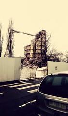 N°8 - The End Times Tower (théorieartistiquedusoleilhabité) Tags: tour tower apocalypse traveaux destruction findestemps findumonde ville urbain urbanisation immeuble grue demolir casser