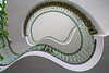 Kidney-shaped (Elbmaedchen) Tags: staircase stairwell treppenauge roundandround hamburg stairs kidney nexttimewithwideangle