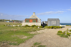 huts (auroradawn61) Tags: portlandbill weymouthandportland dorset uk england july 2017 summer coast sea huts