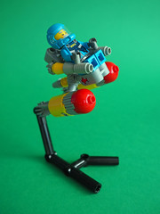 Space Scooter (David Roberts 01341) Tags: lego space spaceship minfigure scooter