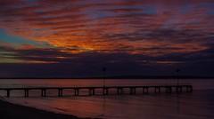 What a wonderful world. (Nature Boy17) Tags: nature jetty sunrise southaustralia eyrepeninsula