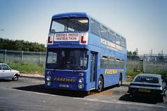 Fareway, Kirkby WWH 29L (SelmerOrSelnec) Tags: fareway kirkby daimler fleetline parkroyal wwh29l drivertrainer bus selnec gmt