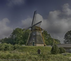 """Besthmenermolen"", Ommen, The Netherlands. (A.J. Boonstra) Tags: besthmenermolen ommen thenetherlands windmill mill canon canon70d canoneos efs1018mmf4556isstm hdrefexpro2"