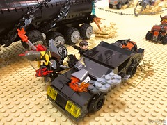 Doored (willgalb) Tags: georgemiller tomhardy gibson mel xb muscle moc car pursuitvehicle v8 fordfalcon furyroad madmax interceptor lego