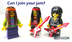 Can I join your jam? (WhiteFang (Eurobricks)) Tags: lego collectable minifigures series city town space castle medieval ancient god myth minifig distribution ninja history cmfs sports hobby medical animal pet occupation costume pirates maiden batman licensed dance disco service food hospital child children knights battle farm hero paris sparta historic ninjago movie sensei japan japanese cartoon 20 blockbuster cinema