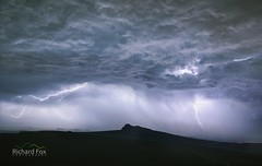 Lucky Strike (http://www.richardfoxphotography.com) Tags: dartmoornationalpark lightning storms stormclouds thunderstorm haytor saddletor outdoors
