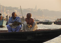 On the Ganges, Varanassi (Will.H. http://this-is-my-world123.blogspot.co.uk) Tags: river ganges india holy city pilgrims