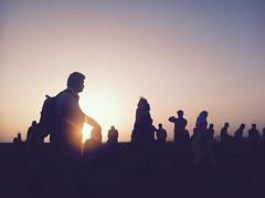 Silhouette in Mumbai