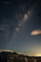 Mountain nightscape (astrogirl969) Tags: fujifilm samyang12mmf20ncssc night star stars milkyway clouds city sydney mtbanks perryslookdown postprocessed adobecameraraw acr nikcolorefex4 longexposure astrophotography outdoor bluemountains wideangle 20faves 5000views xe1