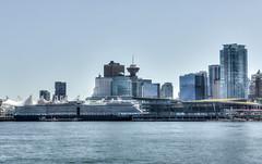 Nieuw Amsterdam (nina g's photos) Tags: nieuw amsterdam holland america cruise ship vancouver coal harbour