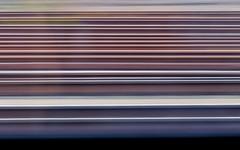 Shutter Tracks (trm42) Tags: throughwindow finland rails abstract vr loupedeck helsinki suomi olympusomd longexposure train pasila ibis tracks finnishrails em1mk2 railroad
