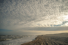 Cotton sky (Mariano Colombotto) Tags: pinamar buenosaires argentina beach playa sand arena sky cielo nubes clouds sunset atardecer nikon travel vacations sea mar infinitexposure autofocus ngc