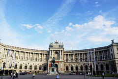 Hofburg, Imperial Palace (thedevilorchard) Tags: vacation europe arquitetura austria lights salzburg wien architecture hofburg colours history buildings camera canont5 canon sky blue