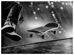 On the skateboard (S|SCH) Tags: s|sch siegfried schmid schwarzundweis shadow schweinfurt street skateboard bw blackandwhite blackanwhite olympus outdoor monochrome monochrom