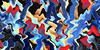 Kunstwerk mit Zündhölzern (VenusTraum) Tags: kunstwerk zündhölzer experiment kunst art work color farbe kreativ idee pleasure freude matches