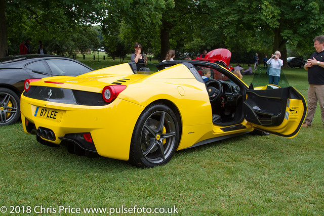 Ferrari 70th Anniversary Tour, The Long Walk, Windsor 15th July 2017