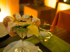 P7151060 (tatsuya.fukata) Tags: thailand samutprakan cabanagarden restaurant italian food shrimp srimpcocktail
