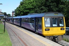 NT 142028 @ Poulton-le-Fylde (ianjpoole) Tags: northern rail class 142 pacer bus 142028 150 sprinter 150117 working 2h00 blackpool north hazel grove