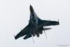 SU-27 Flanker, Ukrainian Air Force (Peter Starling) Tags: airtattoo fairford peterstarling riat totterdown overhead su27 ukraine su27p