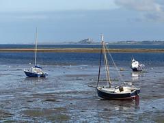SEA VIEW -Lindasfarne P1260309 (ianpreston) Tags: 2017 northumberland northeastcoast eastcoast bamburghcastle seascape seaview lindisfarne