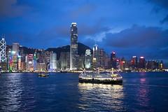 Hong Kong (dmjames58) Tags: cityscape sea kawloon victoriaharbor starferry night leica hongkong travel