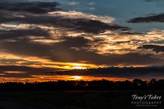 A fantastic sunrise at Lake Ladora