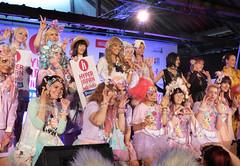 J-fashion show x Kurebayashi (pandorahoshii) Tags: jfashion kawaii harajuku fashion visualkei popkei decora lolita fairykei hyper japan event london cute pastel kurebayashi model