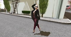 A walk through town (OfficialKrystalJohannson) Tags: photography photos photo photoshoot picture blonde catwa maitreya model mesh raw lara pose poses body flickr secondlife second life rowne gizza empire
