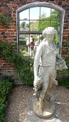 Trumpeters' House Gardens, Richmond: statue with self   portrait reflected in glass (John Steedman) Tags: trumpetershouse gardens richmond statue london uk unitedkingdom england イングランド 英格兰 greatbritain grandebretagne grossbritannien 大不列顛島 グレートブリテン島 英國 イギリス ロンドン 伦敦