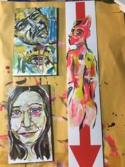 Tmoms (HumanArtistVendingMachine) Tags: duanepotosky dekilahnazari nude butt sticker stickerbomb sexy surreal abstract philiadelphia graffiti