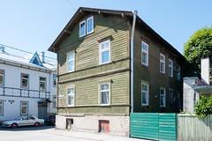 Wooden houses in Kalamaja (soilethecurious) Tags: estonia kalamaja tallinn woodenhouses