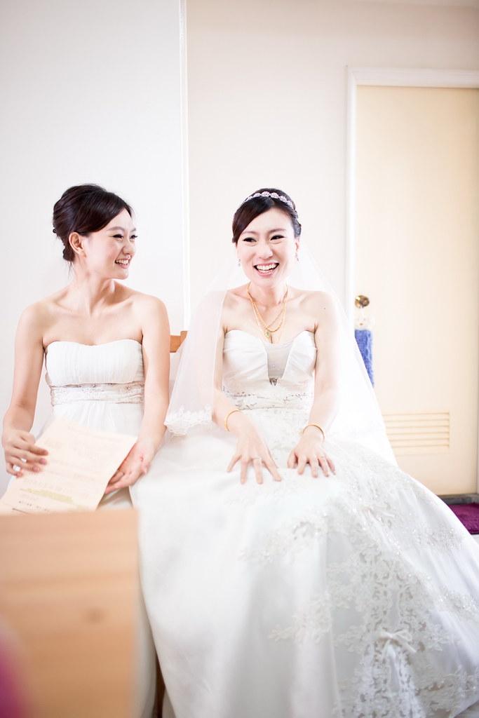 任廷&姿妤、婚禮0318