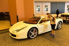 White Dream (tesKing (Italy)) Tags: abudhabi dubai emiratiarabi ferrari malloftheemirates sandra uae emiratiarabiuniti ae