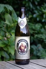 Franzishaner Weissbier DSC01579 (rowchester) Tags: beer birra biere stakol olut cerveza ol piwo bottle franzishaner weissbier white