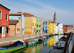 Borano (Pete Foley) Tags: italy venice grape borano fishermen color rainbow rainbowhouses littlestories picswithsoul overtheexcellence