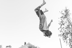 Gravity (morten f) Tags: tkox gravity boy jump fall monochrome face down