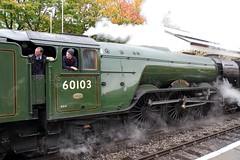20417 Flying Scotsman East Lancs Railway Bury england (melbettsimages) Tags: manchester east eastlancsrailway eastlancashirerailway elr steam steamtrain steamlocomotive ringway train transport uk unitedkingdom england 60103 flyingscotsman