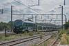 La HLE1312 Lineas assurant le E49855 Monceau/Mulhouse-Nord de passage à Jemeppe-sur-Sambre ce 17 juillet 2017.
