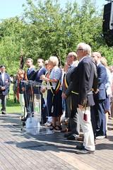 IMG_3127 (Patrick Williot) Tags: waterloo fetes communal parc juillet discours drapeau