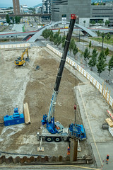 Switzerland: Noise (1/2) (jaeschol) Tags: bauarbeiten bauen cantonuri europa kantonuri kantonzürich kontinent kreis5 pfingstweidstrasse schweiz stadtzürich suisse switzerland