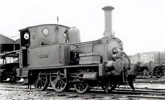 "Weston, Clevedon & Portishead Railway (UK) - WCPR 2-4-0 steam locomotive ""Clevedon"" (Dübs Locomotive Works, Glasgow 1222 / 1879) (HISTORICAL RAILWAY IMAGES) Tags: steam locomotive dübs glasgow portishead train 240 wcpr"